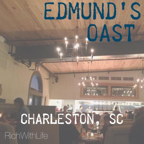 Edmund's Oast Charleston, SC Gluten Free restaurant review