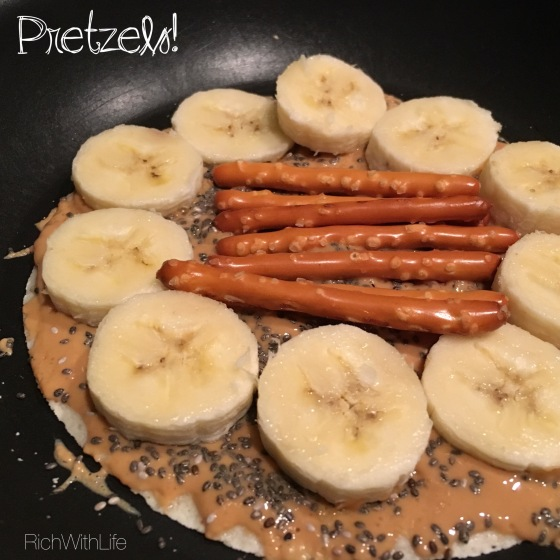 Peanut Butter Banana Taco: Rich With Life - Gluten, Dairy, and Sugar Free
