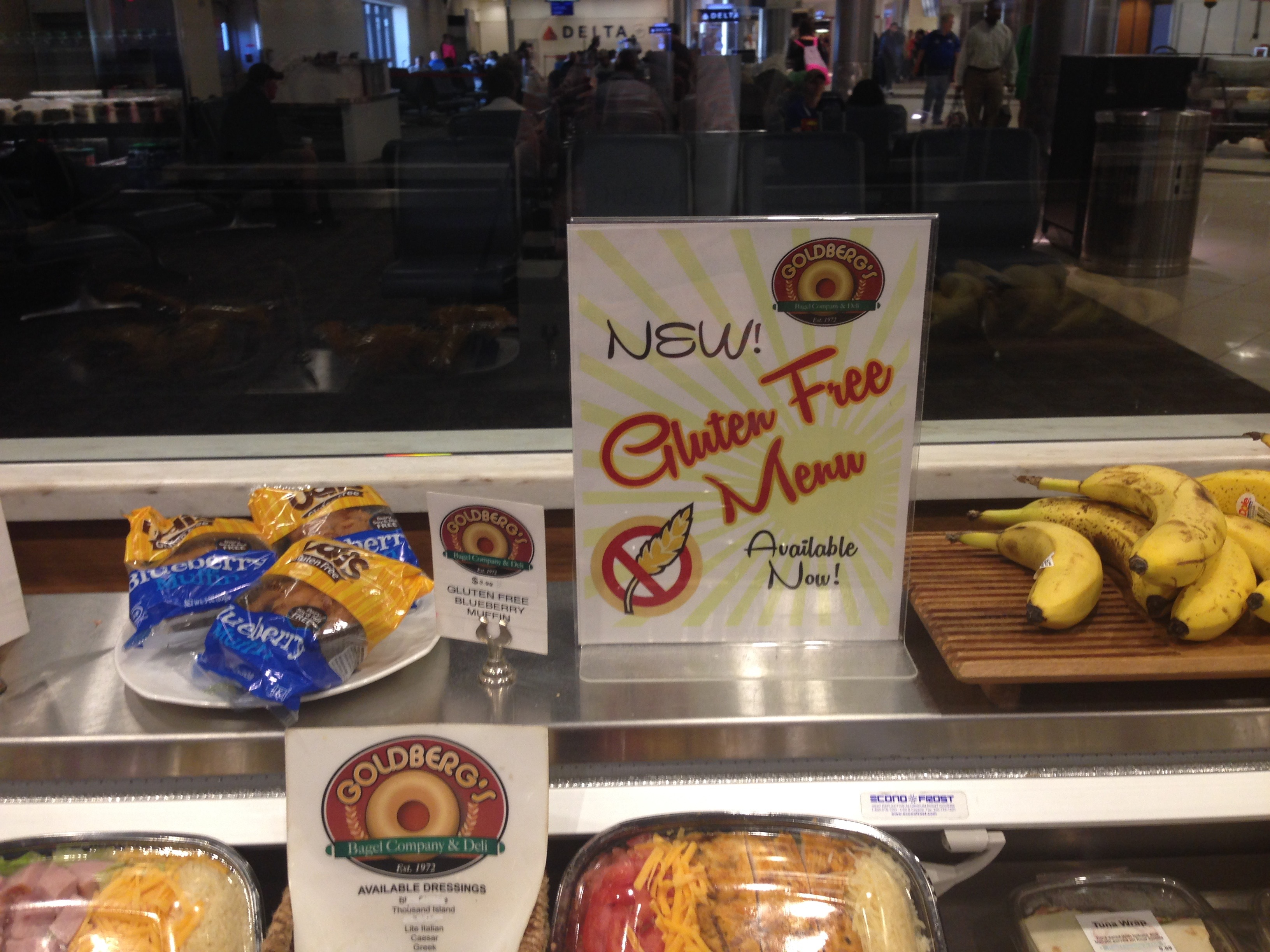 Gluten Free Food In Atlanta Airport